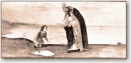 S.Agostino spiega al bambino il mistero di Dio.