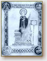 San Beda, il Venerabile.