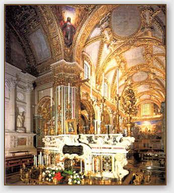 Abazia di Montecassino, La tomba di san Benedetto.