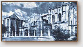 La chiesa del santo