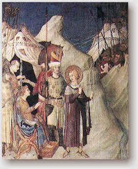 San Martino lascia la cavalleria.