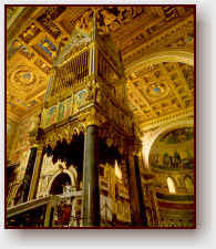 La confessione di san Giovanni. Basilica Lateranense - Roma.