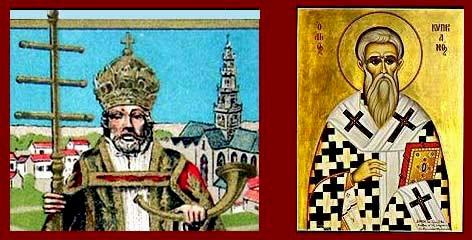 Santi Cornelio e Cipriano.