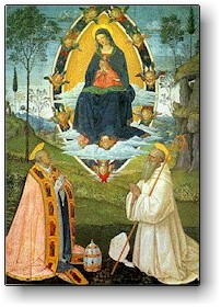 San Benedetto e San Gregorio Magno, papa