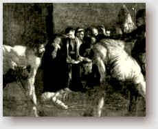 La sepoltura di santa Lucia