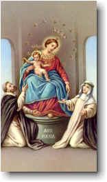 Madonna del santo Rosario di Pompei.