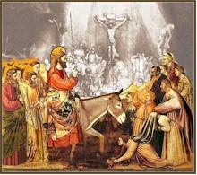 Ingresso di Gesù a Gerusalemme.