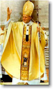 Memoria del Beato Papa Giovanni Paolo II
