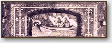 La tomba della santa