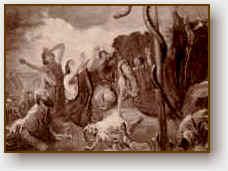 Come Mosè ha innalzato il serpente nel deserto...