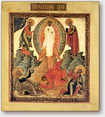 Icona, maniera di Palech, inizio del 1800.