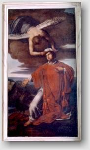 S.Vincenzo, L'altare del santo nella nostra chiesa.